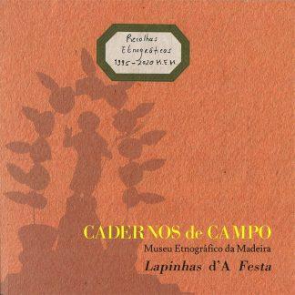 Capa do Caderno de Campo 4 Lapinhas d'A Festa